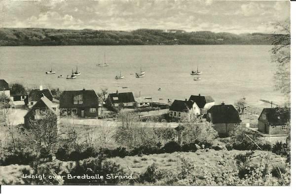 Bredballe Strand først i 50erne